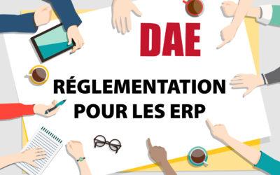 Réglementation DAE pour les ERP