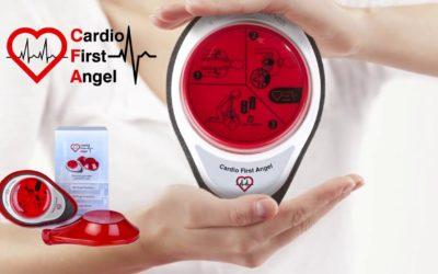 Cardio First Angel : faciliter le massage cardiaque.